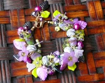 Orchid Bracelet