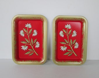 Two Little Tin Trays