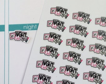 28 Girl's Night Out Stickers Lady's Night Out Stickers Fits Erin Condren Planner & Other Planners Cute Planner Stickers