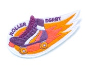 Roller Derby Iron On Patch