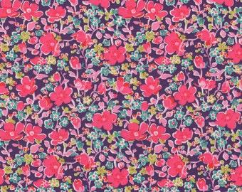 Liberty Fabric John B Tana Lawn Fat Quarter Pink Floral