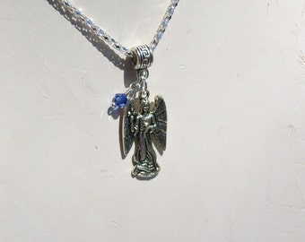 Personalized Birthstone for Angel Necklace