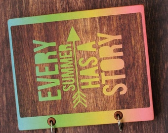 Premade Summer Travel Scrapbook- Every Summer Has a Story
