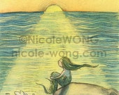 ACEO Print -- Sunset