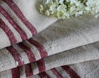 C 410 antique handloomed RASPBERRY 21.86yards perfect for tablerunner curtains cushions