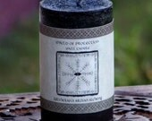 SHIELD OF PROTECTION Signature Spell Candle by Witchcrafts Artisan Alchemy