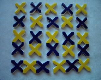 17N - X's TILE Set - Ceramic Mosaic Tiles