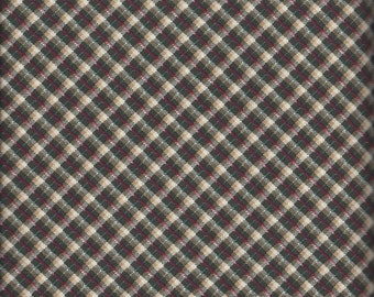 Green Plaid (35314-1) - BTY - Windham