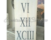 Roman numeral sign