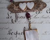 Forever Love - Vintage Assemblage Necklace