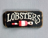 Miniature Lobsters Sign