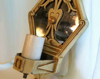 SALE- Art Deco Vintage Light from Barneche/ Stephanie Barnes