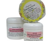 Exfoliating Clay Soap - facial skin care SET - Healthy Skin Care products for normal or combo skin types