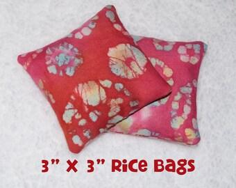 "Rice Bags, 3""x3"", set of 2"
