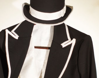 Famous White Tie Suits---With Tail Coats, Vests, Pants and Top Hats