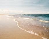 Beach Photography, Calm Waters, Beach Landscape, Ocean Landscape, Ocean Photography, Coastal Wall Art, Pretty Beach Picture, Ocean Waves