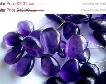35% OFF ON Sale Purple Amethyst smooth pear briolette