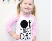 Oh Happy Day Raglan American Apparel Shirt