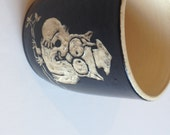 Item 250 Tootsie Roll Owl Black Mug