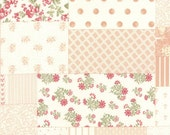SALE Whitewashed by 3 Sisters for Moda Patchwork in white