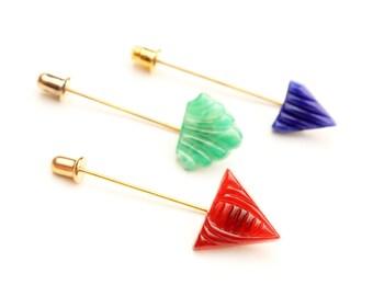Deco Color Shapes Stickpin Set