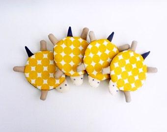 Drink Coasters, Fabric Coasters, Turtle Coasters, Polka Dot Coasters Set, Handmade Coaster, Fun coasters, cute coaster - Housewarming Gift