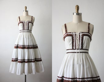 vintage gunne sax prairie dress