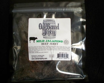 Mild Jalapeno Gourmet Beef Jerky
