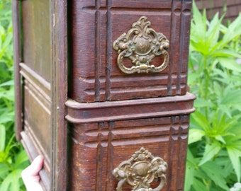 Antique Sewing Machine Drawer Set from Rustysecrets