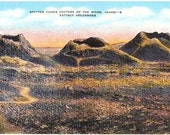 Vintage Idaho Postcard - Craters of the Moon National Monument (Unused)