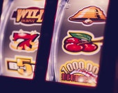 Slot Machine - casino gaming Las Vegas fine art photography