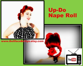 DollfaceBettys Up-Do Nape Roll Styling Tool
