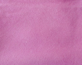Pink Hand Dyed Felted Wool Fabric - Hand Dyed - - 100% Wool