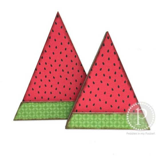 """Items similar to DIY: Watermelon Wedges Wood Project (7.5""""x 8.25"""", ..."""