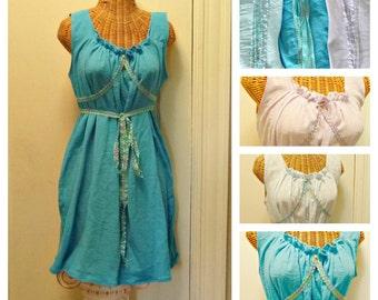 Plus Sizes Summer Corset Dress Ready To Ship Short Womens Gretel Festival Boho Blue, Turquoise, Lavender