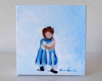 Dress Up - Small Original Painting