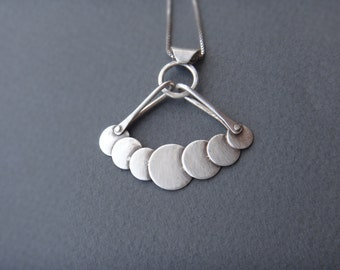 Sterling Silver Bubbles Necklace