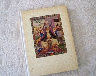 "Vintage Book Religious ""The Book of Job"" 1946 Illustrated Szyk Old Testament Collectible Rare Book"