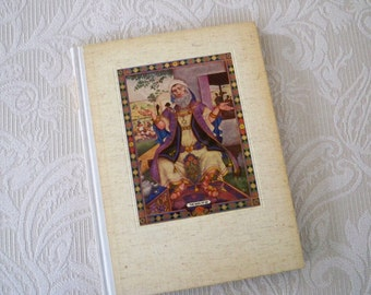 """Vintage Book Religious """"The Book of Job"""" 1946 Illustrated Szyk Old Testament Collectible Rare Book"""