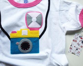 Vintage Diana Camera Ringer T-Shirt