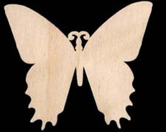 Butterfly Shapes Natural Craft Wood Cutout  294