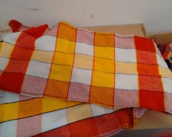 plaid scarf tartan muffler checker punk grunge mod 60s sixties grunge