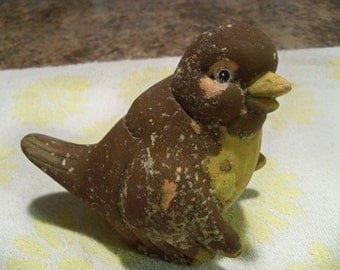 very old mysterious  hollow shabby chic  bird
