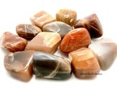 ONE Moonstone Earth Tone Tumbled Stone, Large, Premium, Divine, Women, Crystals, Metaphysical
