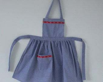 PDF pattern for Dorothy apron  Age 18 months to 8 years