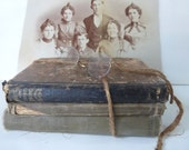 Vintage School Books Set of  Education 1800s Library