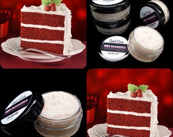 Sweet Kisses Exfoliating Lip Scrub-Red Velvet Cake 10gr/.35oz