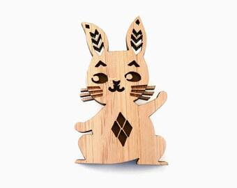 Michi Bunny Brooch