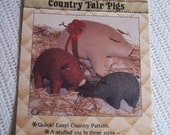 Pattern: COUNTRY FAIR PIGS #384C. 1985