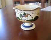 Vintage Torquay Pottery        Pedestal Dish    circa 1910
